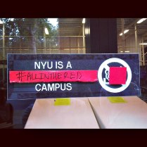NYU - an #allinthered campus!